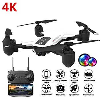 YIQIFEI Mini Drone, Portable Drone with HD Camera, Pocket RC ...