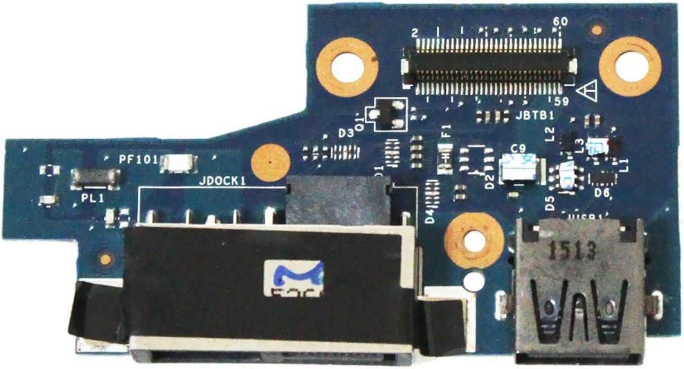 Zahara DC Power Jack USB Port Board Replacement for Lenovo ThinkPad S5 Yoga 15 LS-B595P 435MFI39L01 15.6
