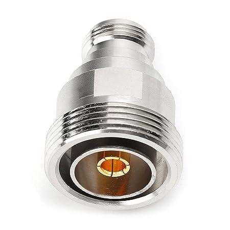 Adaptador coaxial RF para microondas L29 7/16 DIN hembra a ...