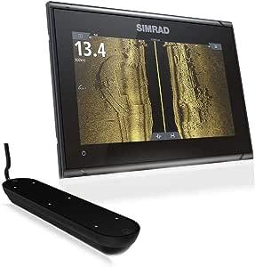 Simrad GO9 XSE Combo - Transductor 3 en 1 para montura Transom y C-MAP Pro Chart: Amazon.es: Deportes y aire libre