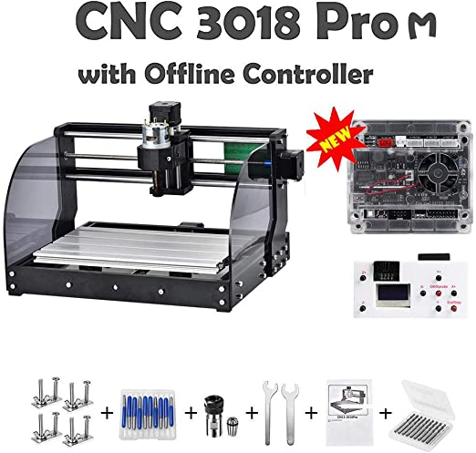 Amazon.com: CNC 3018pro-M DIY Mini CNC Machine, último ...