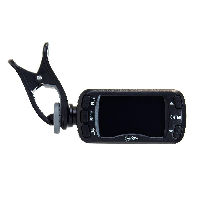 Eagletone CMT50 Accordeur avec métronome Noir