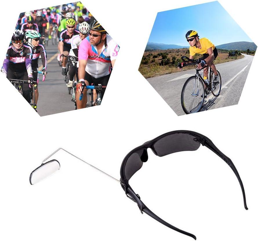 Bike Bicycle Cycling Riding Miroir Casque Mount de Recul Vue Arrière de lunettes A3S1