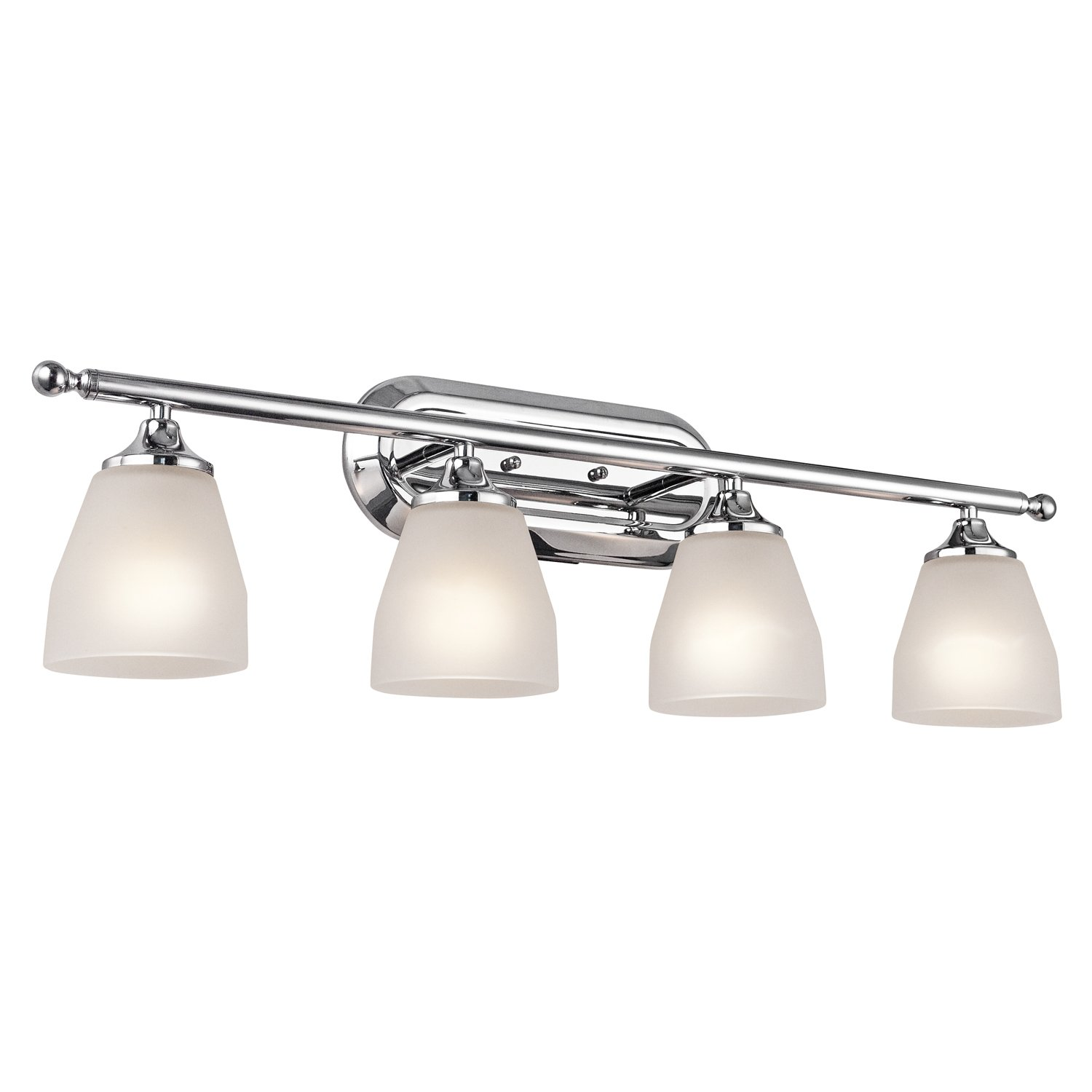 Kichler 5449CH Four Light Bath - Vanity Lighting Fixtures - Amazon.com