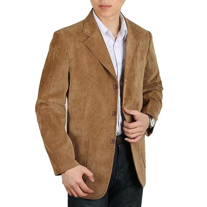 Chaqueta para Hombre De Pana Pana Algodón De De De Moda para Hombre Mode De Marca