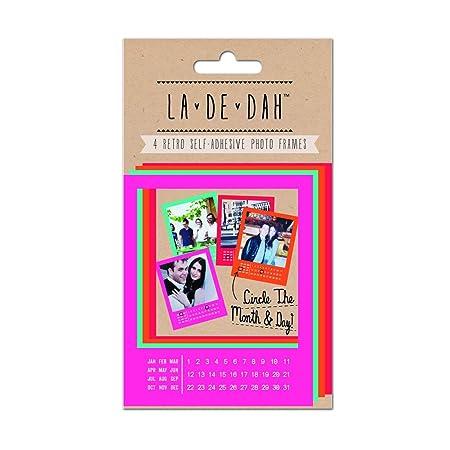 La De Dah Polaroid Frames 4 Pack