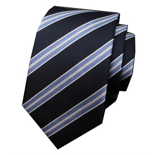 YAOSHI-Bow tie/tie Corbatas y Pajaritas para Corbata Blanca y Azul ...