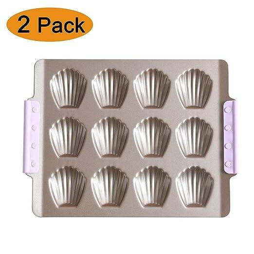 Moldes de Horno para 12 Magdalenas y Muffins | Acero al Carbono ...
