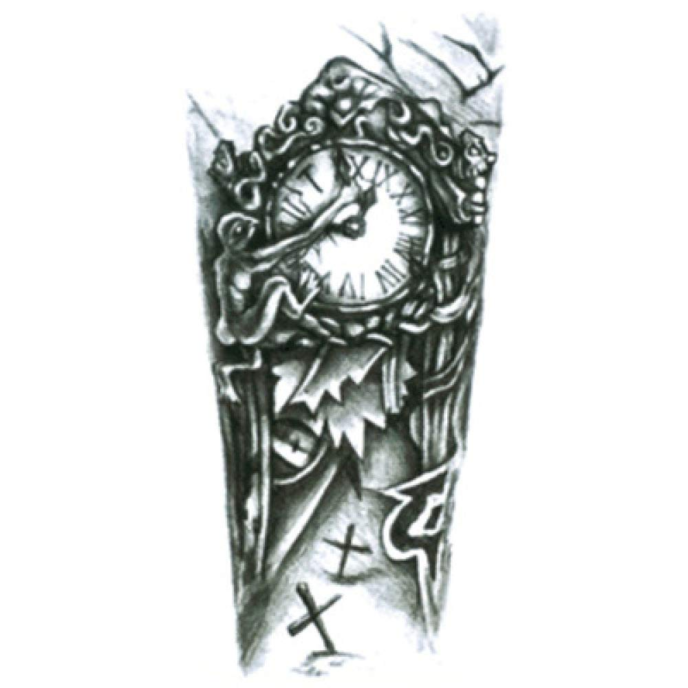 Pegatinas de tatuaje de brazo de flor pegatinas de tatuaje a ...