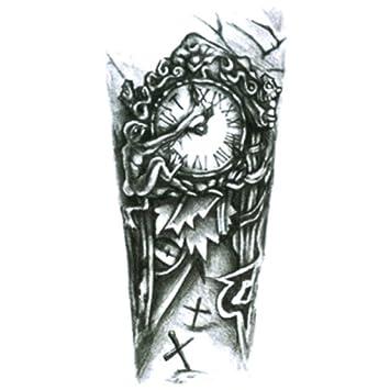Flor del brazo pegatinas de tatuaje pegatinas impermeables del ...