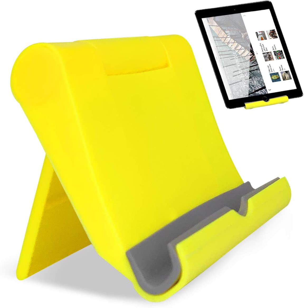 Ponacat Soporte para Tel/éfono M/óvil Soporte Universal para Tel/éfono Flexible de 360 ??/° con Soporte de Mesa Flexible con Base de Clip