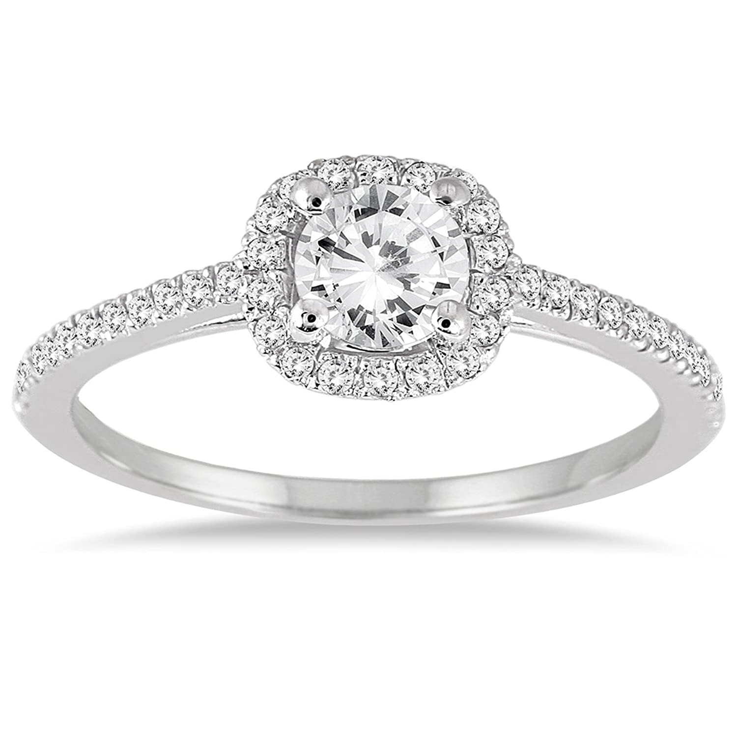 walmart diamond silver ip round com ring t miabella carat w and engagement princess cut sterling