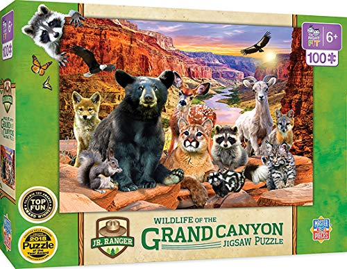 Masterpieces National Parks, Grand Canyon 100Piece Jigsaw Puzzle