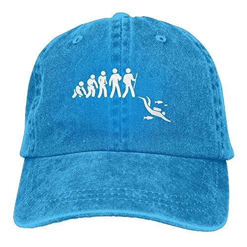 Azul Gorra para HujuTM Azul Real Unique Hombre de Taille béisbol 6Xn7CS