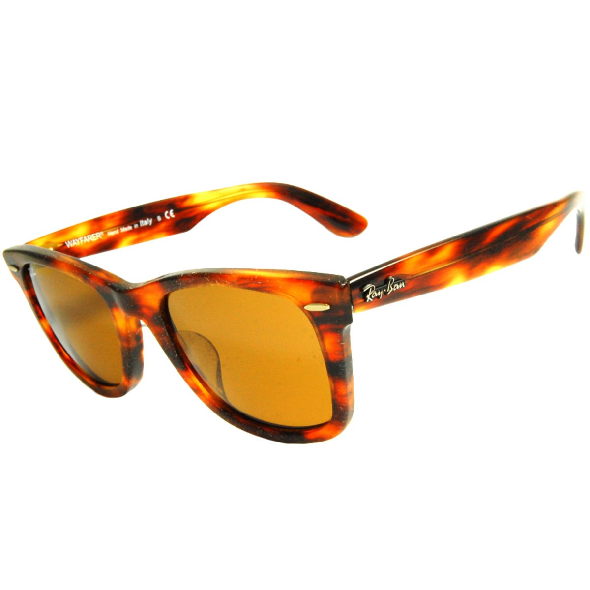 5a28343c52 Amazon.com: Ray-Ban Wayfarer RB2140-F - 1186 Sunglasses 52mm: Clothing