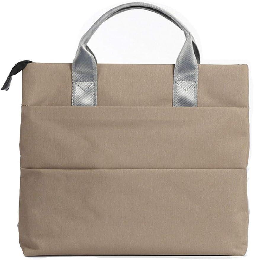 Vertical Canvas Book Bag Business Document Bag File Package Large Capacity Briefcase Men Handbag Waterproof Laptop Bag Student Pack Book Pack Color : Red