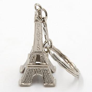 Amazon.com: 12 PCS/LOT de la torre Eiffel llavero 3d Francés ...