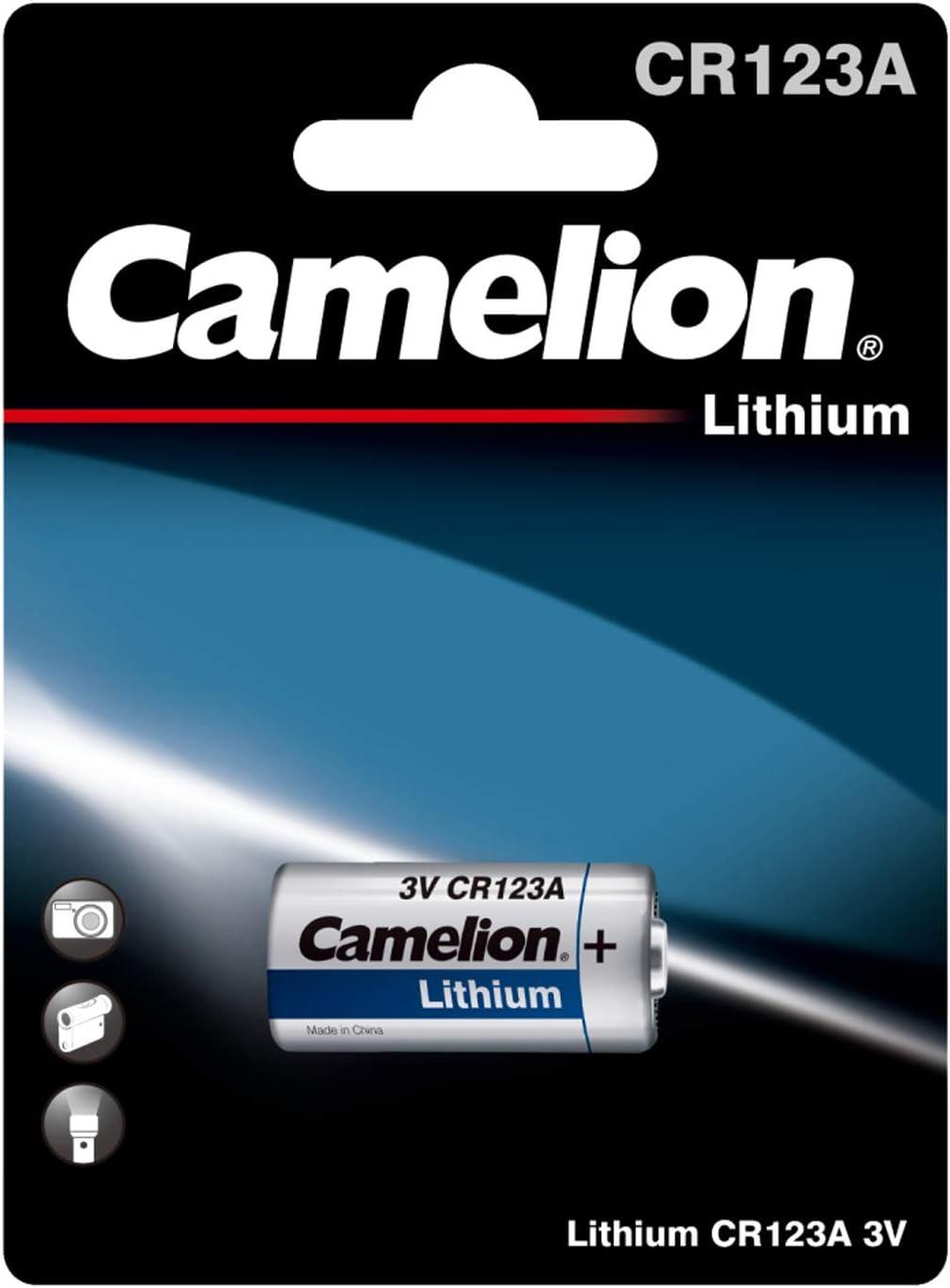 Camelion 19001123 Lithium Foto Batterie Cr123a 3 Volt Elektronik