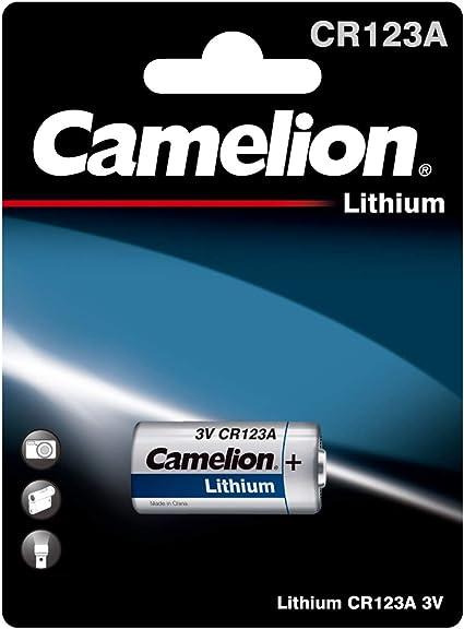 Camelion 19001123 Lithium Foto Batterie Cr123a 3 Volt 1 Stück