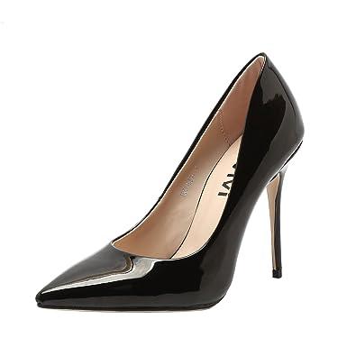 VI&VI Vivi Donna High Heel Stiletto Slip On Stiletto Heel Pointed ea4056