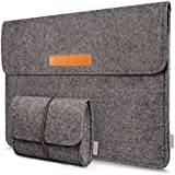 Inateck 15 -15.4 Inch MacBook Pro Retina Case Sleeve Ultrabook Netbook Bag Carrying Protector Case Cover with Card Slot - Dark Gray
