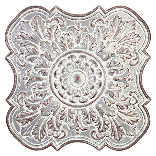 - RAZ Imports Vintage Embossed Metal Medallion Wall Art - 30-in