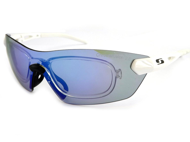 Sunwise Hastings Radsportler Sport Sonnenbrille weiß