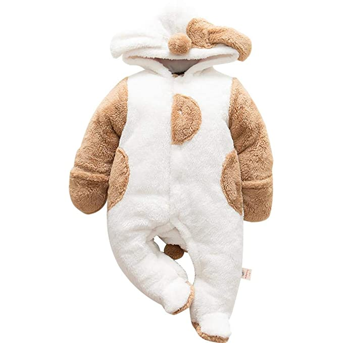 per Rompers Bebés Recién Nacidos Pijamas Bebés Invierno Saco de Dormir Infantil Mamelucos Invierno Espesado para Bebés de 0-12Meses: Amazon.es: Ropa y ...