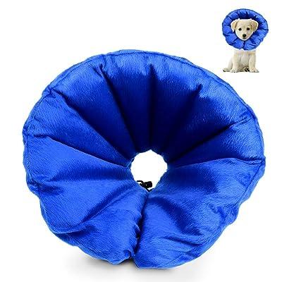 HOLYSTEED Dog Inflatable Collar Dog Cone Protective Collar