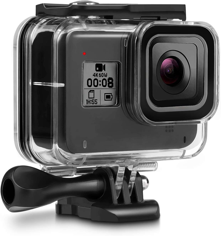 Deyard 60m Unterwassergehäuse Für Gopro Hero 8 Black Kamera