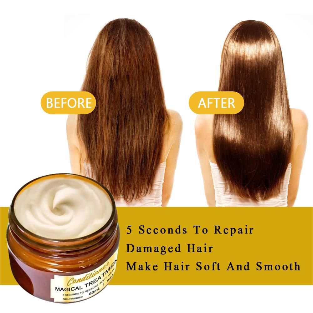 Newdiva Hair Detoxifying Hair Mask Advanced Molecular Hair Roots Treatmen Recover by Newdiva