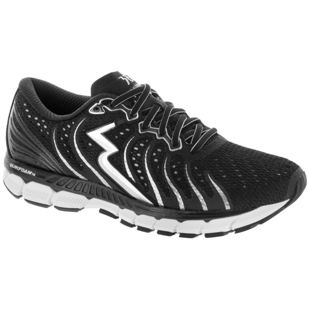 361° - Zapatillas de running de Material Sintético para hombre Negro negro/plata 42.5 EU