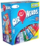 Airheads Bars, Chewy Fruit Candy, Variety Pack, Non Melting Easter Basket Candy, 60 Count