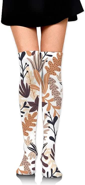 RGFDF Otoño Wild Floral Seamless Pattern Mujeres sobre la