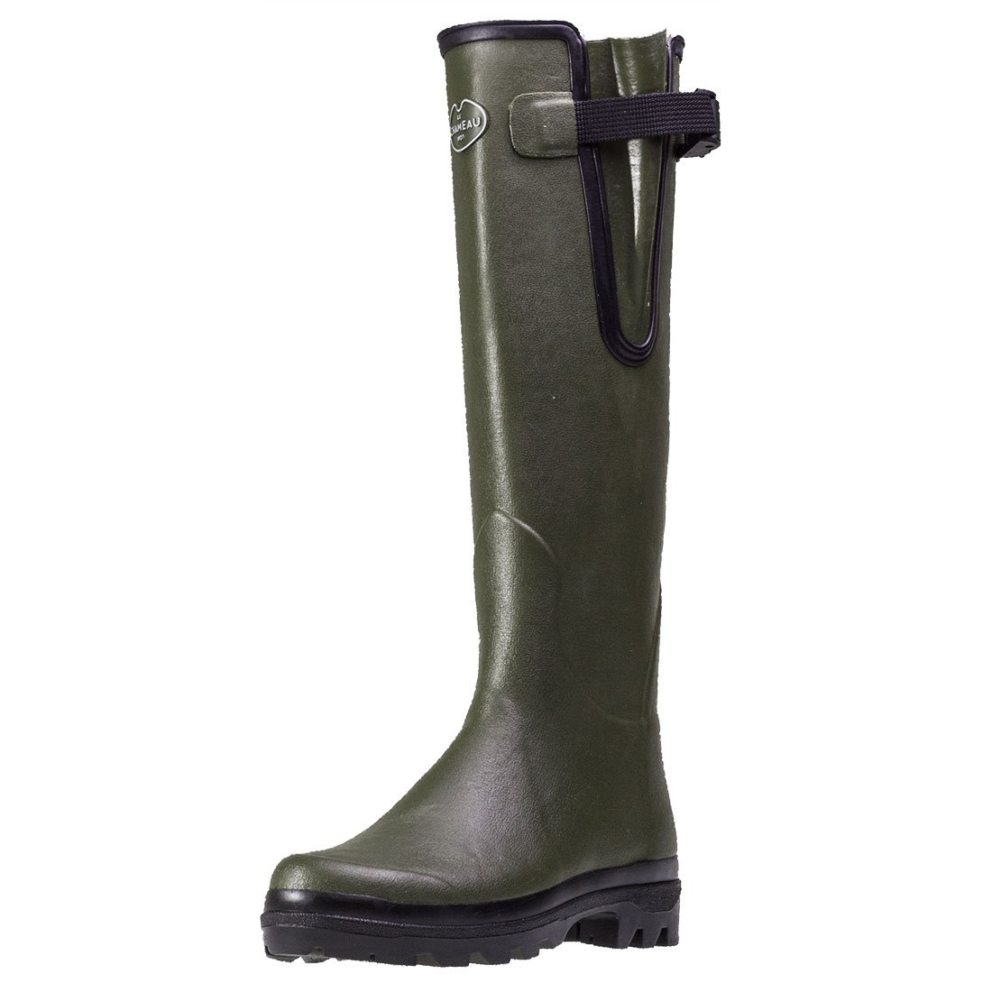 Le Chameau Footwear Women's Vierzon Jersey Boot, Vierzon Green, 39 EU/7.5 M US