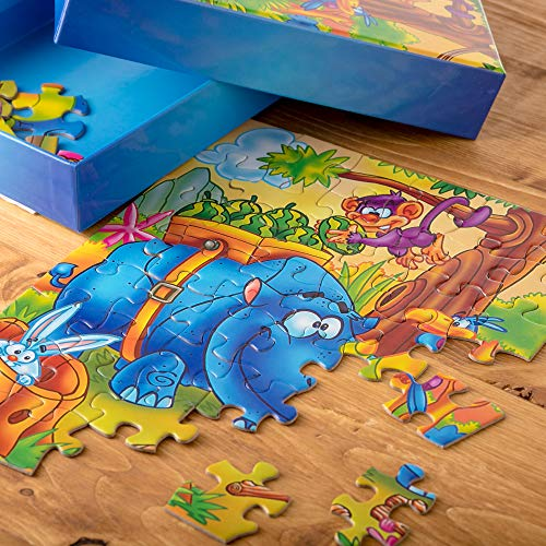 Cool Jigsaw Puzzle For Kids And Adults With Beautiful Box Jig Saw