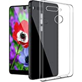 Essential ph-1 case, The Essential Phone Skin, Essential Phone Clear Cases, Essential Cell Phone Accessories, Essential ph1 Phone Protector Protection Cover Protective Bumper by boonix (Clear)