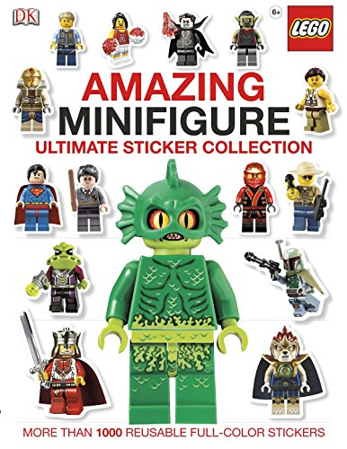 Ultimate Sticker Collection: Amazing LEGO® Minifigure: More Than 1,000 Reusable Full-Color ()