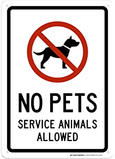 photo relating to No Pets Allowed Except Service Animals Sign Printable titled iCandy Goods Inc No Animals Authorized Support Pet dogs are Welcome