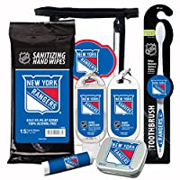 10% OFF—NHL 6-Piece Fan Kit with Decorative Mint Tin, Toothbrush, Hand Sanitizer, SPF 15 Lip Balm, Hand Lotion, Sanitizer Wipes. NHL Gifts for Men and Women By Worthy