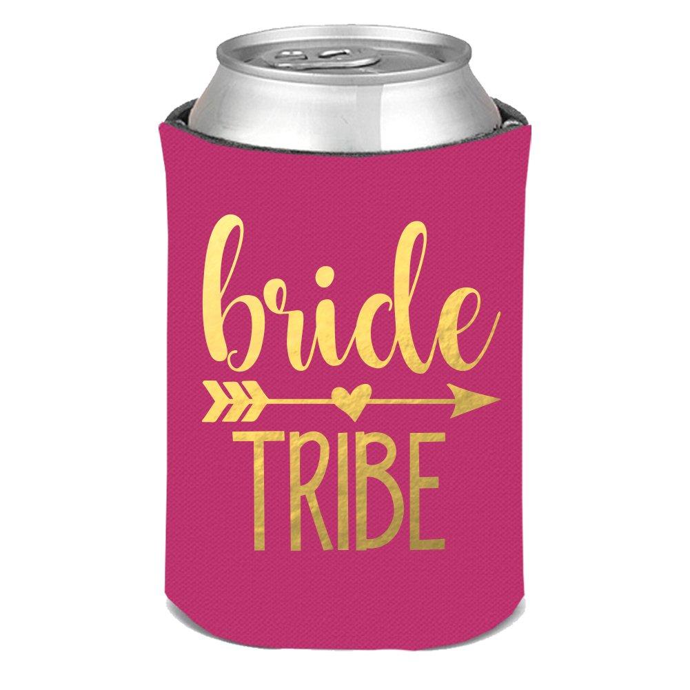 Amazon.com: Bride Tribe Can KOOZIE bachelorette party - you choose ...