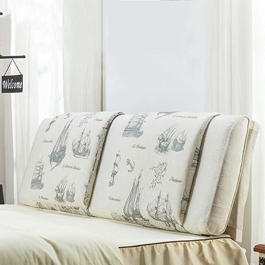 HYXL Cabecera Bedworth,tapizado Cojín Cuña Triangular,sofá ...