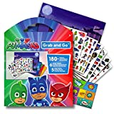 PJ Masks Large Stickers Activity Set Bundled with Specialty Separately Licensed GWW Reward Sticker