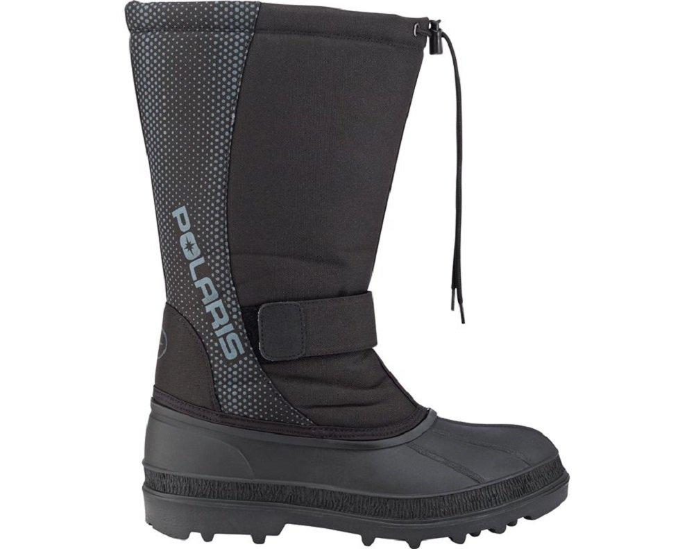 Polaris Youth Touring Snow Boots Black Size 4