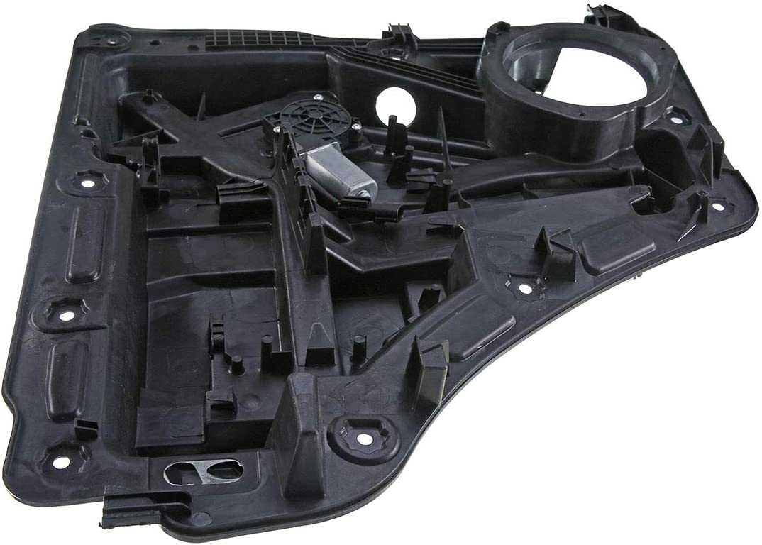 A-Premium Power Window Regulator with Motor and Panel for Jeep Liberty 2008-2012 Rear Right Passenger Side