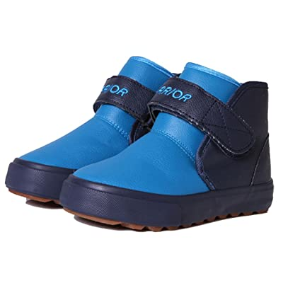 2015 NEW D.s.mor Little Kid Patchwork Snow Boots Winter Boots