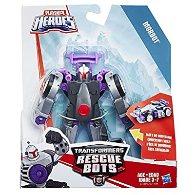 Playskool Heroes Transformers Rescue Bots Rescan Morbot Action Figure: Toys & Games