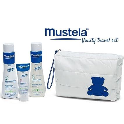 Mustela Juego de viaje para la higiene del bebé - 4 piezas: Amazon ...