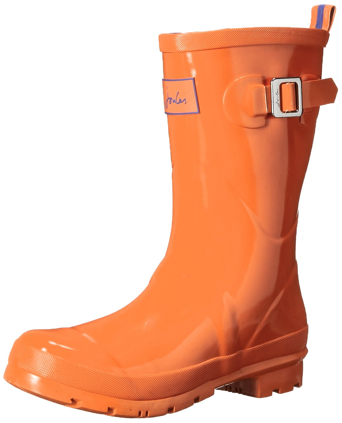 Joules Women's Kelly Welly Gloss Rain Boot B015JAIU9I 6 B(M) US|Orange