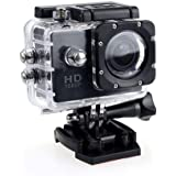 Yiteng アクションカメラ  1080PフルHD高画質  1200万画素 30M防水  ウェアラブルカメラ  140度広角レンズ  スポーツカメラ バイク カメラ インスタントカメラ